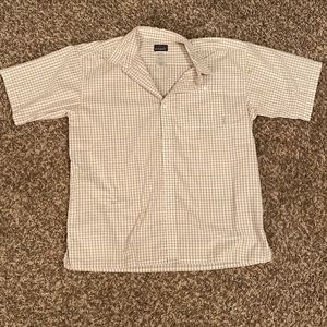 Patagonia Checked Short Sleeve Button Down